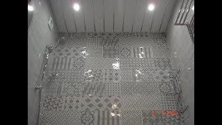 3 этап ремонт ванной комнаты (конечный результат) www.remsanteh.ru