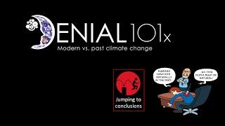 UQx DENIAL101x 4.2.1.1 Modern vs. past climate change
