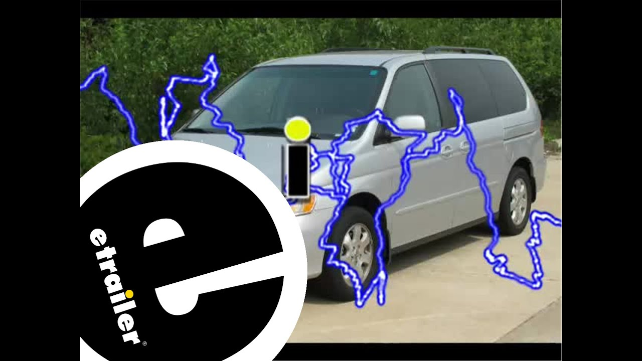 hight resolution of trailer wiring harness installation 2003 honda odyssey etrailer 2003 honda odyssey trailer wiring diagram 2003 odyssey trailer wiring