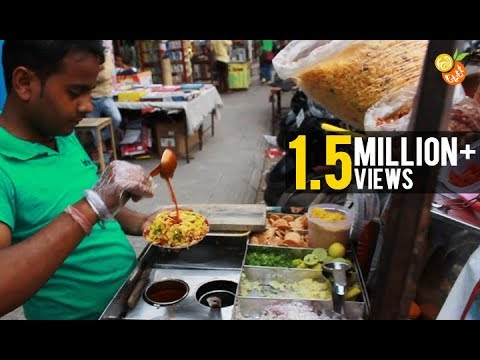 Street Food India - Bhel puri (Chaat) - Indian Street Food - Street Food 2016