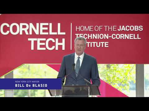 Highlights from Cornell Tech Campus Dedication