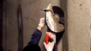 Алмазная резка проемов в бетоне без пыли(, 2014-03-08T15:59:05.000Z)