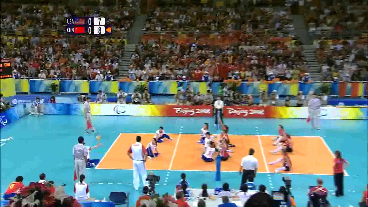 Womens Sitting Volleyball Final 1
