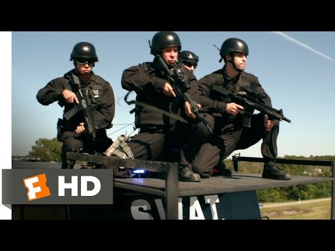 Heist (2015) - SWAT Assaults the Bus Scene (6/10) | Movieclips