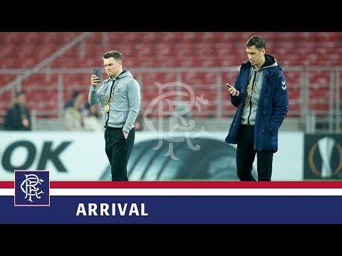 TEAM ARRIVAL   Spartak Moscow v Rangers   08 Nov 2018