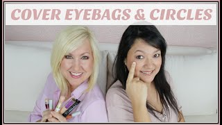 How to Cover Under Eye Dark Circles & Bags | Makeup for Women over 40