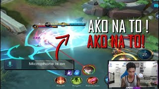 MIC ON PART 2 !  AKO NA TO ! - MOBILE LEGENDS - 1000 DIAMONDS GIVEAWAY - RANK - HARITH - GAMEPLAY