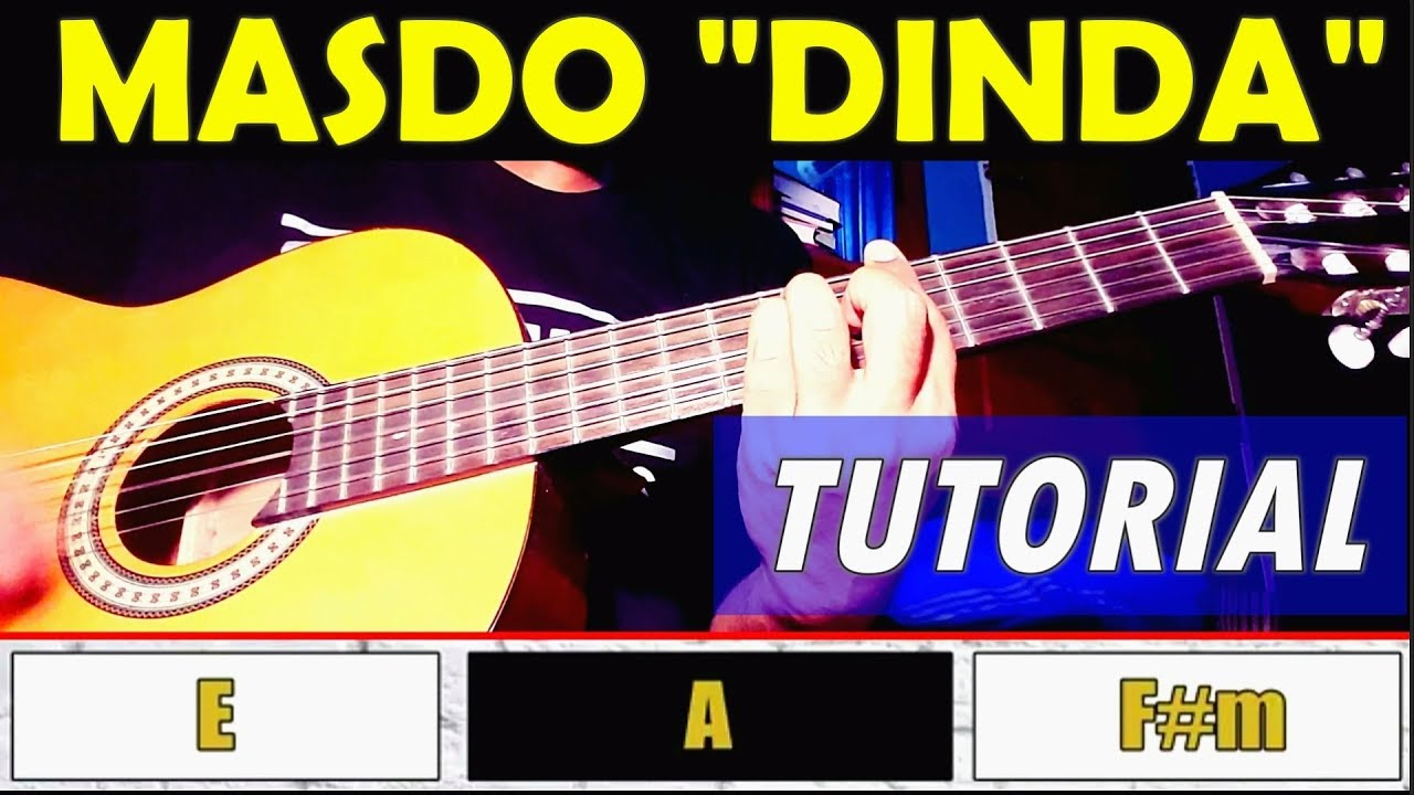 Kugiran Masdo Dinda Newsong 2018 Easy Guitar Tutorialchords