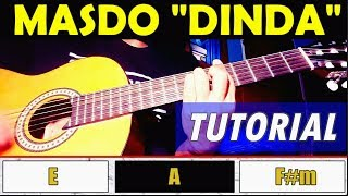 Kugiran Masdo - Dinda   Newsong 2018   Easy Guitar Tutorial/chords With Lyrics