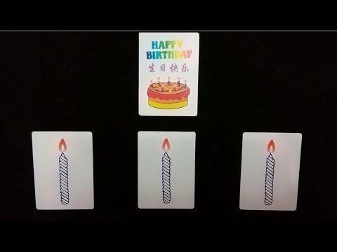 學會這個魔術!生日不用送禮物了!(Learn the magic! No gifts for birthdays!)