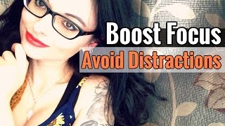 10 Psychological Tips to Stay Focused & Avoid Distractions // Improve Concentration