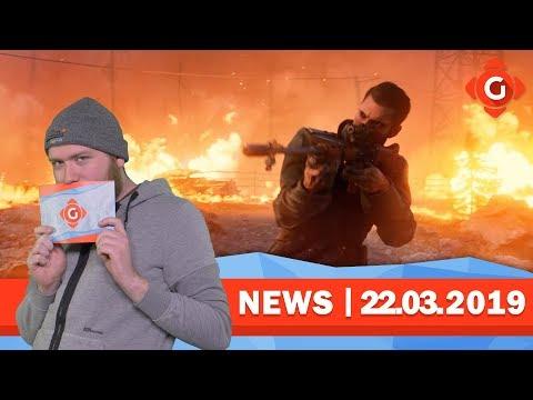 Battlefield V: Trailer zeigt Battle-Royale! Life is Strange 2: Termine für Episoden 3-5! | GW-NEWS thumbnail