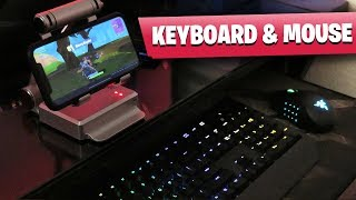 Fortnite Mobile KEYBOARD and MOUSE Gameplay (WORKING 100%)