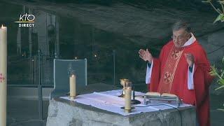 Messe de 10h à Lourdes du 3 mai 2021