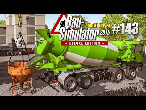 Bau-Simulator 2015 Multiplayer #143 - Das HAUS steht! CONSTRUCTION SIMULATOR Deluxe |