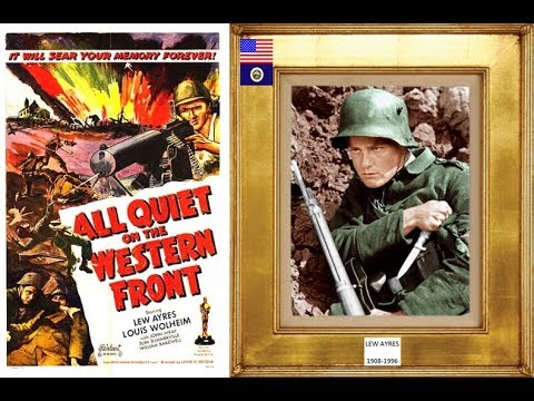 LEW AYRES 19081996 all quiet on the western front 1930