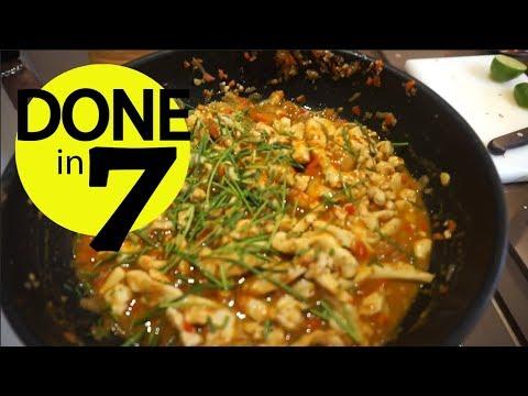 Ayam Pedas Cacah Terasi - Done In 7.