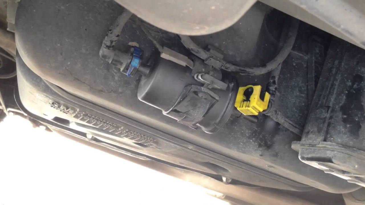 2006 Chevrolet Cobalt >> GM Spin Troca de filtro de combustível, passo a passo - YouTube