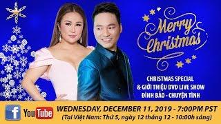 Lam Anh & Đình Bảo - Special Christmas Livestream   December 11, 2019