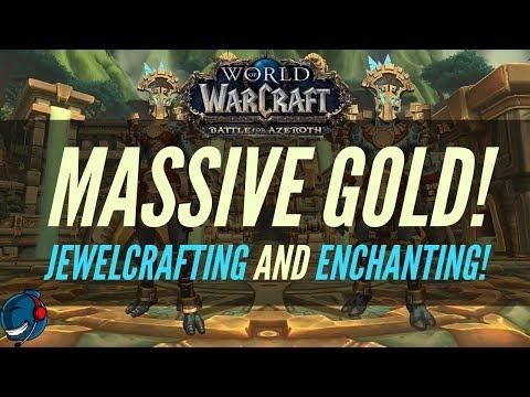 World of Warcraft | BFA | INSANE GOLD MAKING! | UPDATE on Jewelcrafting + Enchanting!