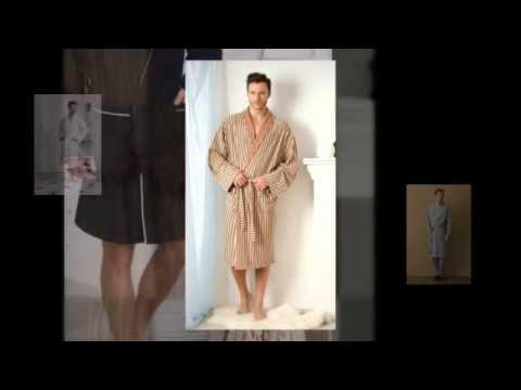 Халаты для дома мужские - YouTube