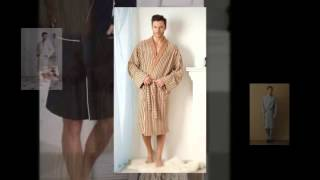 Халаты для дома мужские(Махровые халаты, шелковые халаты, бамбуковые халаты, вафельные халаты, легкие мужские халаты, спортивная..., 2014-08-18T09:10:58.000Z)