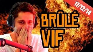 Il se fait brûler vif !!!