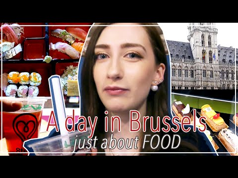 (ENG) Japan Vlog In Brussels / Sushi, Bubble Tea And More Japan Stuffs!.