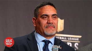 Hall of Fame provides platform to 'teach young men to be right men' – Kevin Mawae   Golic & Wingo