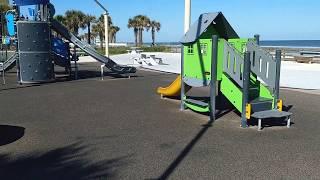 Daytona Beach Sun Splash Park Virtual Tour - Public Beachside Park
