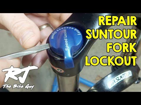 Air SR Suntour fun082-40 lock-out Cartouche SR Suntour pour sf18 xcr34-lor Coil