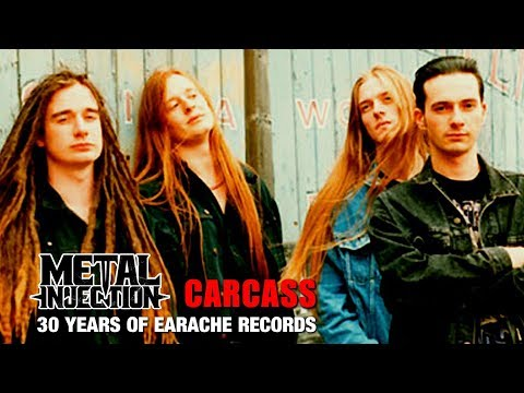 CARCASS Behind The Scenes Stories - 30 Years Of Earache | Metal Injection