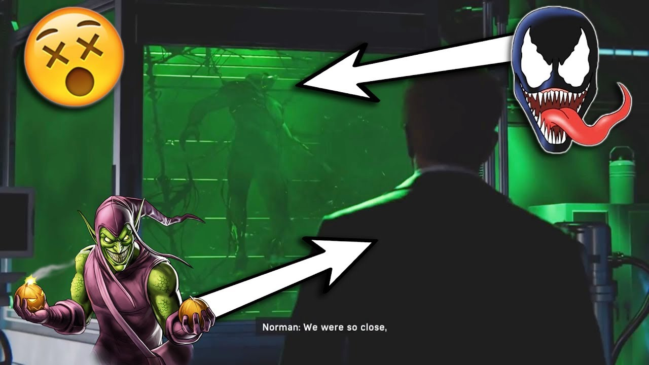 spider-man ps4 post credit scene explained (venom teaser)?! - youtube
