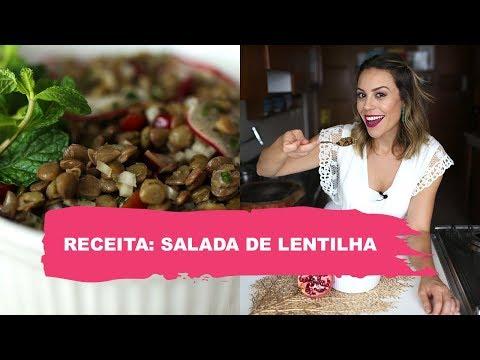 SALADA DE LENTILHA PARA A VIRADA  RECEITAS FINAL DO ANO   Go Deb!