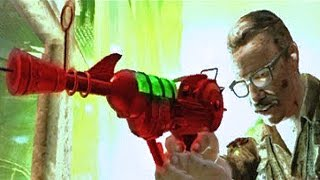 SECRET RAY GUN PERK EASTER EGG ON XBOX ONE! Call of Duty Black Ops 2 Zombies Gameplay