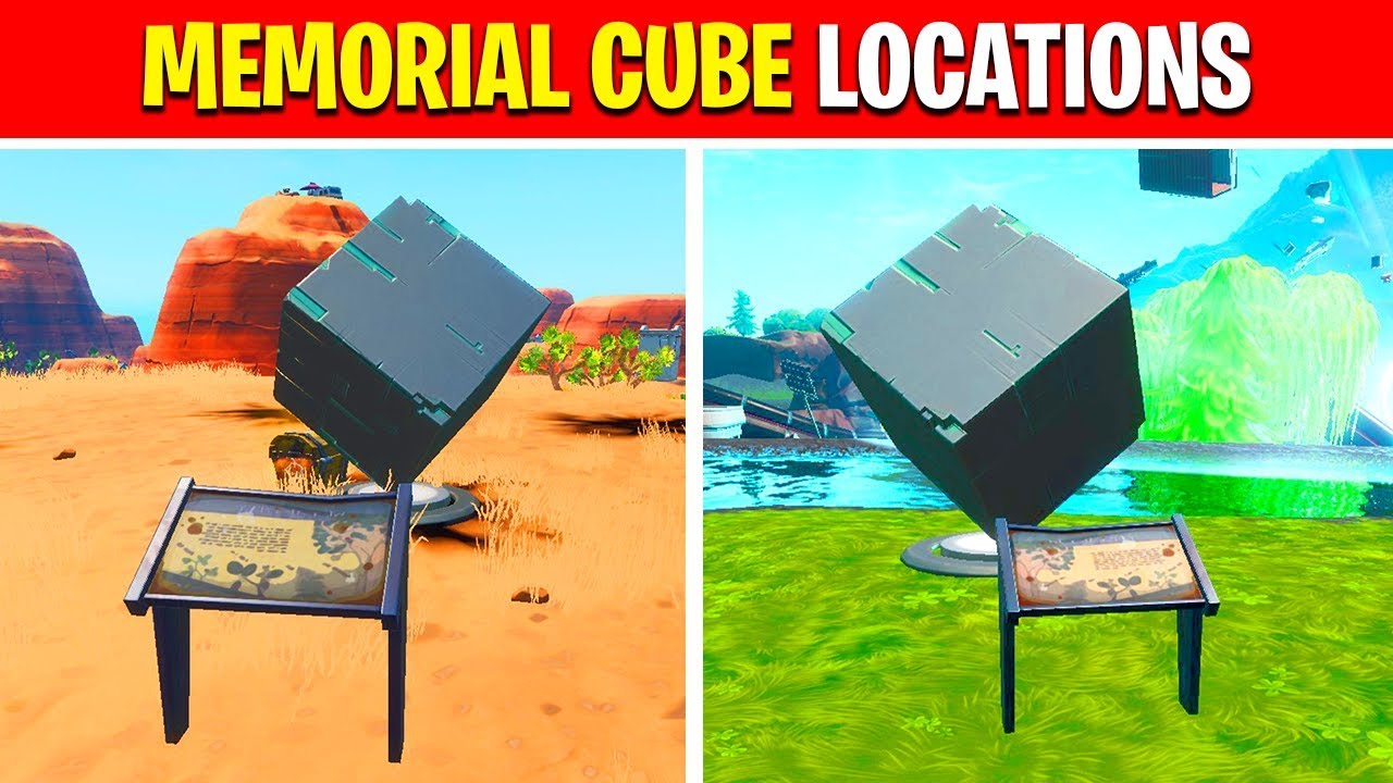 Visit A Memorial To A Cube In The Desert Or By A Lake Fortnite Week 3 Season 10 Challenges