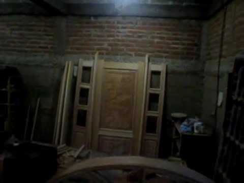 Muebles y estilos ebanisteria puerta tallada de caoba - Muebles de caoba ...