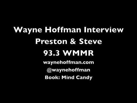 Wayne Hoffman Mentalist - Radio Interview - Preston & Steve