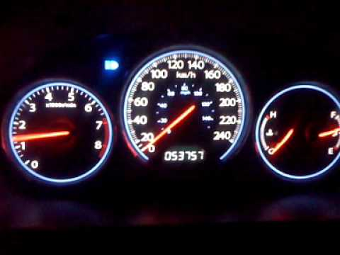 96-00 Civic with 2004 Gauge cluster swap !!WORKING!!! - YouTube on