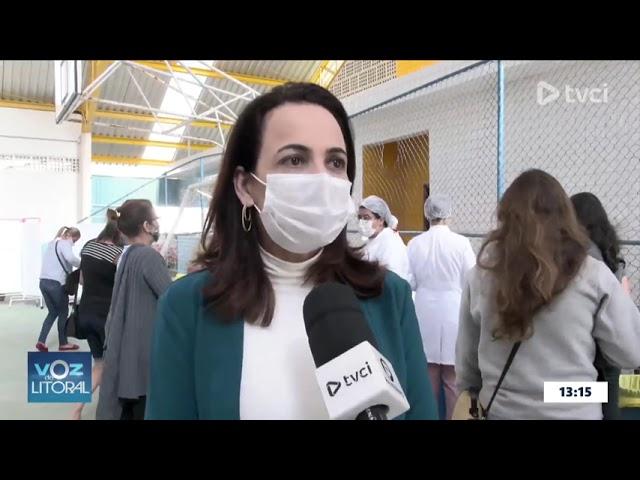 VACINAÇÃO CONTRA A COVID-19 EM PONTAL DO PARANÁ