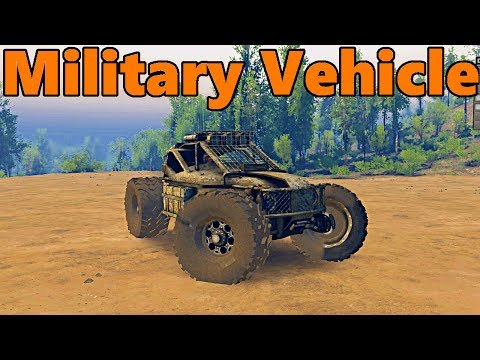 Spin Tires | NEW Military Recon Vehicle!