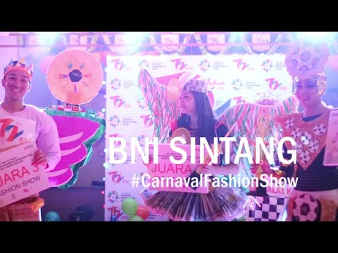 Road To Asian Games BNI Sintang Carnaval Fashion Show