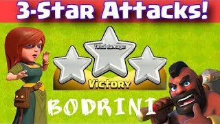 Clash Of Clans Greek~3 stars War And Attack~By Bodrini