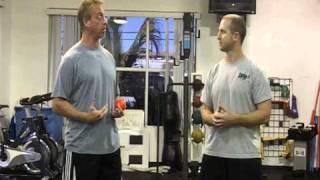 Dynamic shoulder exerciselGrif Fig and Adam Brush