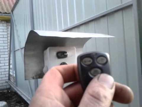 видео: Откатные автоматические ворота (сделал сам)