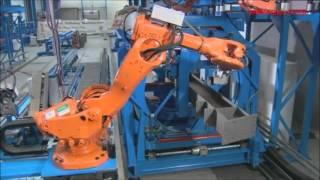 ZEMAN - robotic beam assembly/welding (Steel Beam Assembler)
