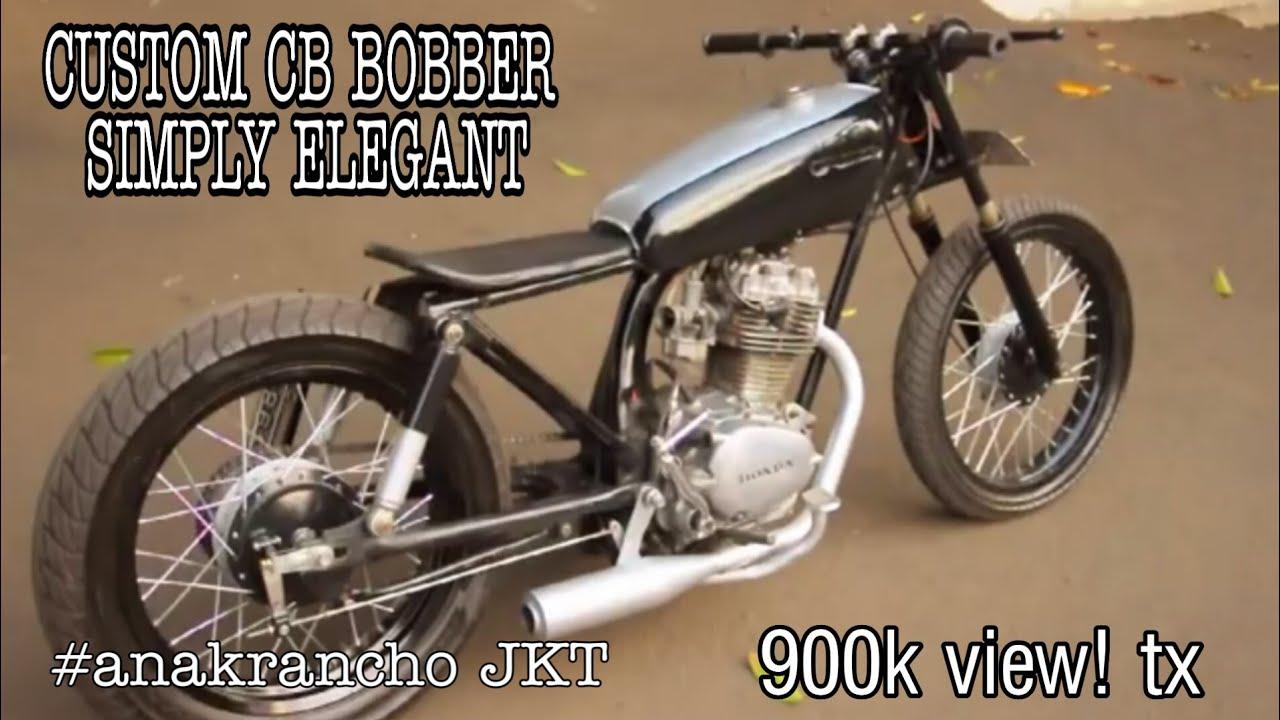 101 Modifikasi Motor Cb Bobber Modifikasi Motor Honda CB Terbaru