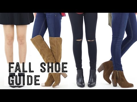 Fall Shoe Guide Checklist | How to Wear Boots | Fall Outfit Ideas | Miss Louie