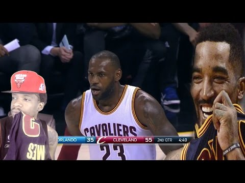 J.R. WE NEED YOU!! CLEVELAND CAVALIERS vs ORLANDO MAGIC FULL GAME HIGHLIGHTS REACTION!