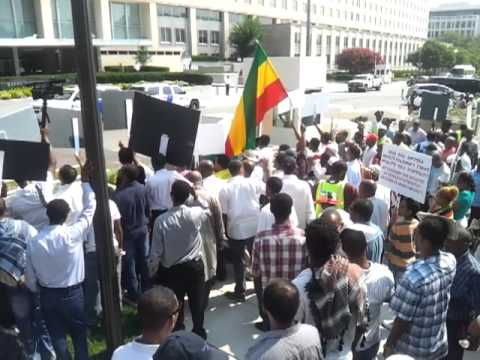 Ethiopia Muslims at State Department protest EPRDF